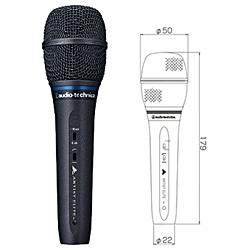 【送料無料】 オーディオテクニカ DCバイアスコンデンサー型ボーカルマイクロフォン AE5400
