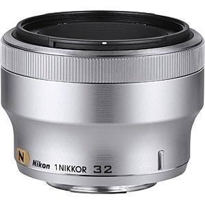 【送料無料】 ニコン カメラレンズ 1 Nikkor 32mm f/1.2【ニコン1マウント】(シルバー)[1N321.2SL][c-ksale]
