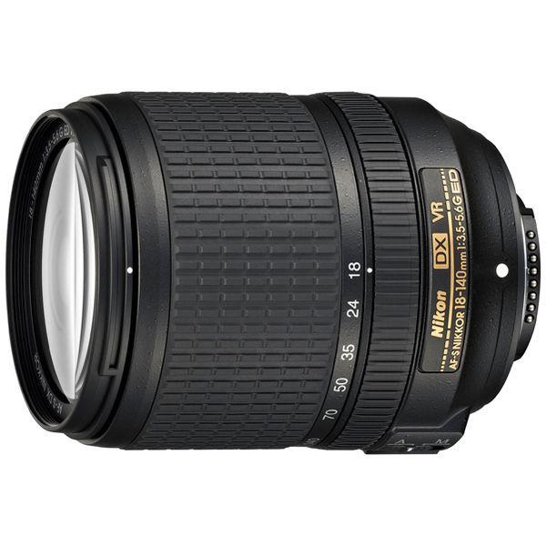 【送料無料】 ニコン カメラレンズ AF-S DX Nikkor 18-140mm f/3.5-5.6G ED VR【ニコンFマウント(APS-C用)】[AFSDXVR18140G]