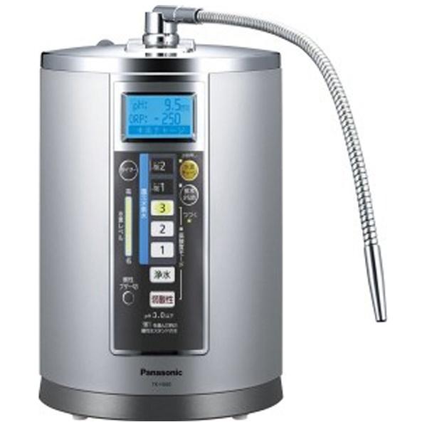 【送料無料】 パナソニック Panasonic 還元水素水生成器 TK-HS90-S ステンレスシルバー[TKHS90S]
