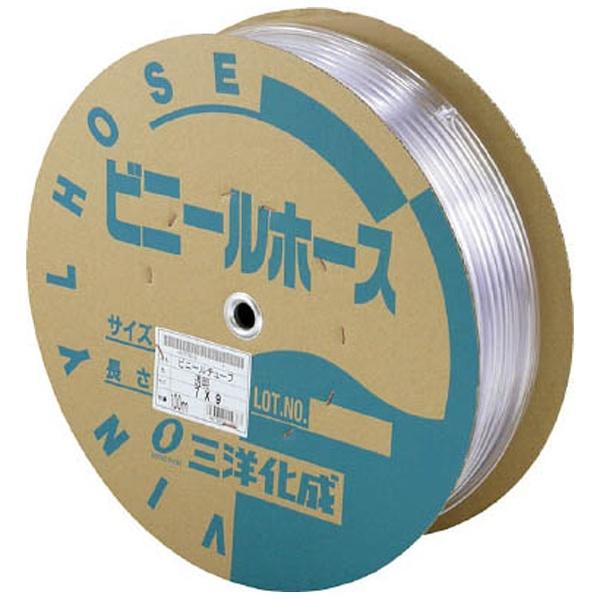 【送料無料】 三洋化成 透明ホース15×20 50mドラム巻[TM1520D50T]