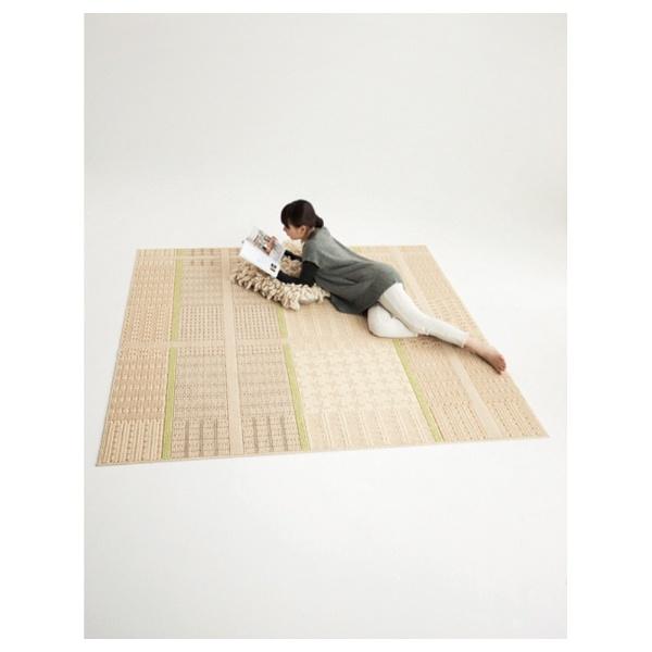 【送料無料】 スミノエ ラグ ウォームグレン(190×240cm/ベージュ)【日本製】