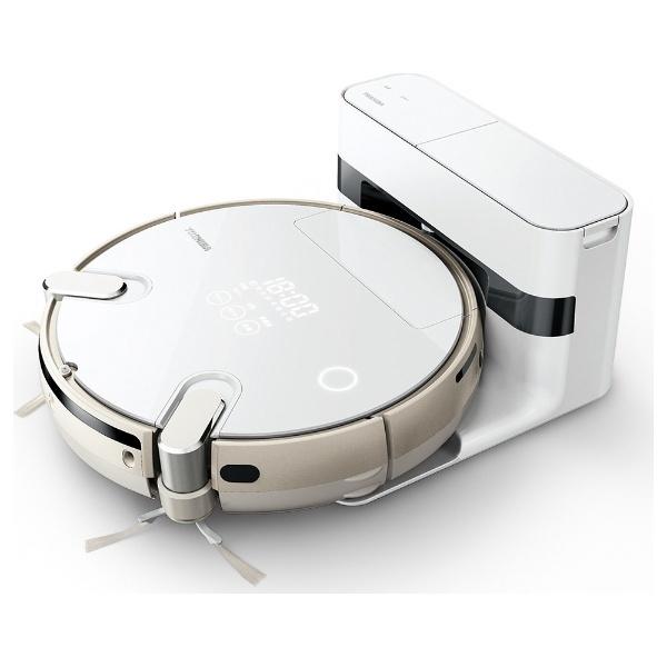 【送料無料】 東芝 TOSHIBA 【1500円OFFクーポン 8/1 00:00~8/3 23:59】ロボット掃除機 「トルネオ ロボ」 VC-RCX1-W グランホワイト[VCRCX1][k-ksale]