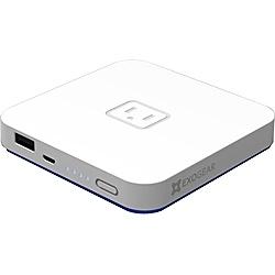 【送料無料】 EXOGEAR タブレット/スマートフォン対応[USB microB/Dock] USBモバイルバッテリー「exovolt plus メインバッテリー」+micro USB/30ピンケーブル 2.1A (5200mAh・ホワイト) E1380EP [microUSB]【動画有り】