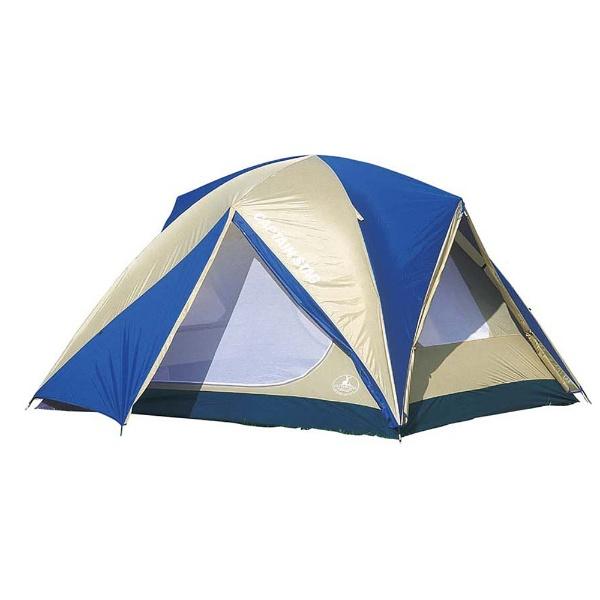 【送料無料】 キャプテンスタッグ オルディナスクリーンドームテント〈6人用〉(キャリーバッグ付) M3118