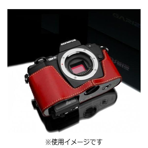【送料無料】 Kカンパニー 本革カメラケース 【オリンパス OM-D E-M10用】(レッド) XS-CHEM10R[XSCHEM10R]