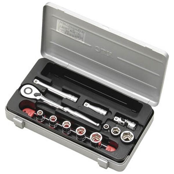 【送料無料】 京都機械工具(KTC) 9.5sq.ソケットレンチセット[21点] TB314