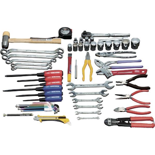 【送料無料】 トラスコ中山 ピカイチ 産業用機械工具セット 49点 PKS1