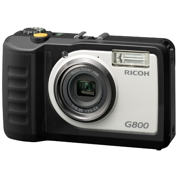 【送料無料】 リコー RICOH 【10%OFFクーポン 8/4 18:00 ~ 8/5 23:59】防水コンパクトデジタルカメラ  G800[G800]