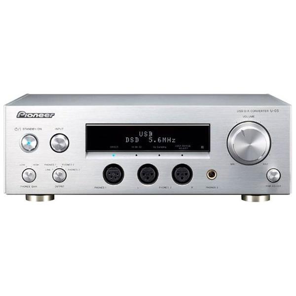 【送料無料】 パイオニア 【ハイレゾ音源対応】ヘッドホンアンプ USB-DAC付き U-05[U05]
