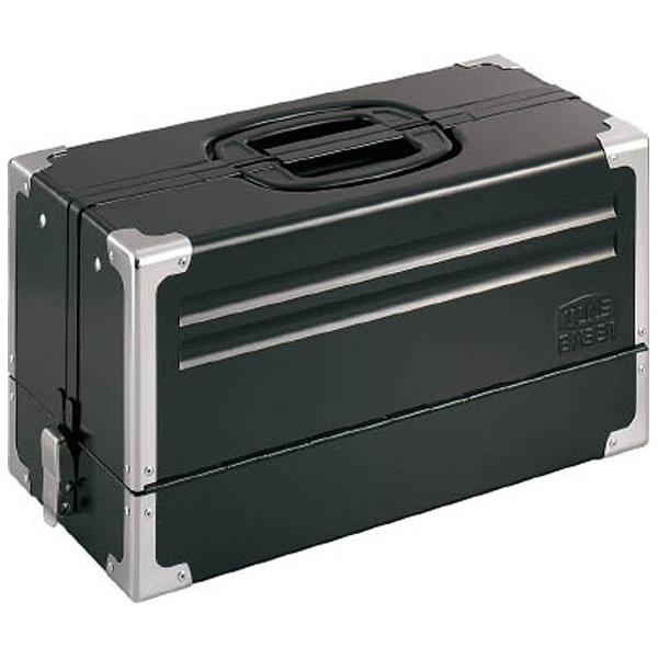 【送料無料】 TONE ツールケース(メタル) V形3段式 マットブラック BX331BK