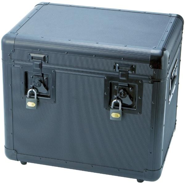 【送料無料】 トラスコ中山 万能アルミ保管箱 黒 480×360×410 TAC480BK