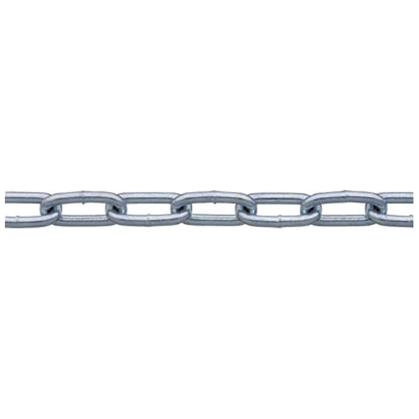 【送料無料】 ニッサチェイン 鉄ユニクロ溶接リンクチェイン 5.5mm×30m IW2055