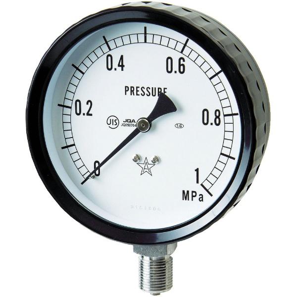 【送料無料】 右下精器製造 ステンレス圧力計 G4112610.1MP