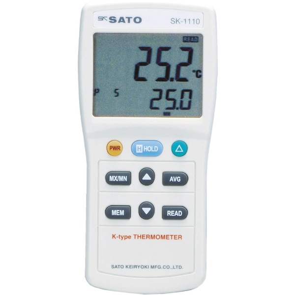 【送料無料】 佐藤計量器製作所 デジタル温度計 指示計のみ(8014-03) SK1110