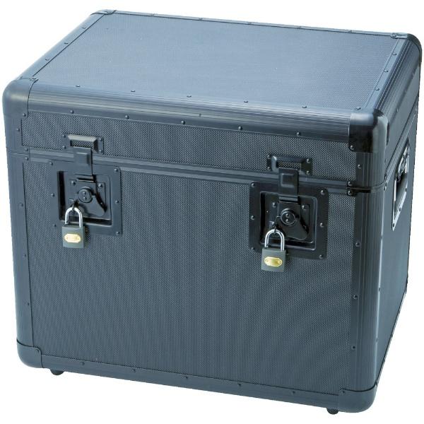 【送料無料】 トラスコ中山 万能アルミ保管箱 黒 543×410×457 TAC540BK