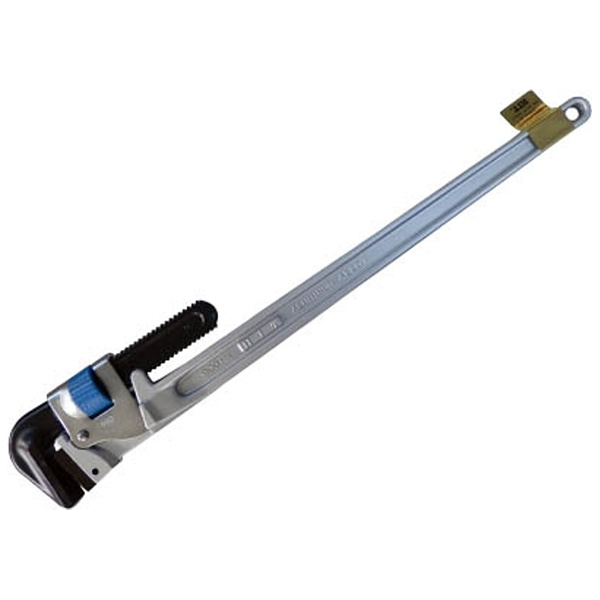 【送料無料】 ヒット商事 ブルーアルミパイプレンチ 白管 被覆管 兼用 900mm ALP900J