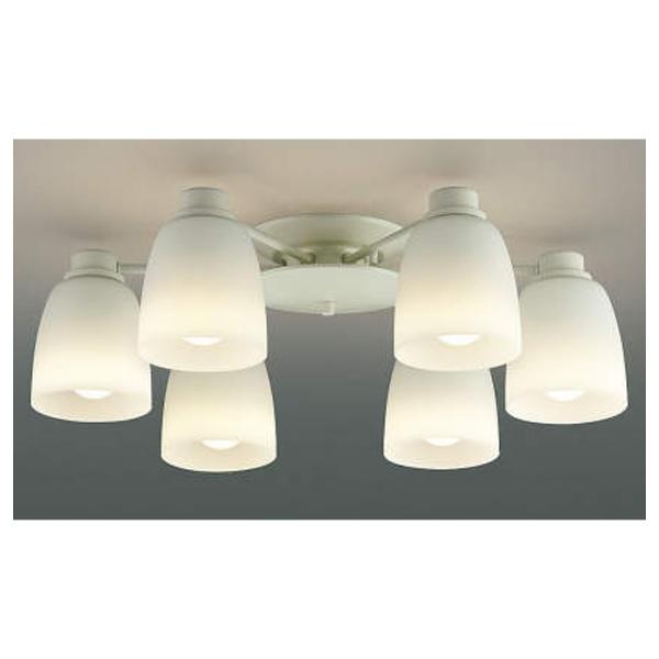 【送料無料】 コイズミ KOIZUMI LEDシャンデリア(~8畳) AA37738L 電球色[AA37738L]