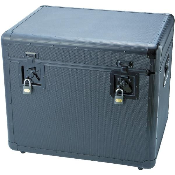 【送料無料】 トラスコ中山 万能アルミ保管箱 黒 610×457×508 TAC610BK