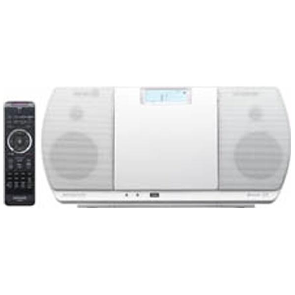 【送料無料】 ケンウッド 【ワイドFM対応】Bluetooth対応 ミニコンポ(ホワイト) CR-D3-W[CRD3W][o-ksale]