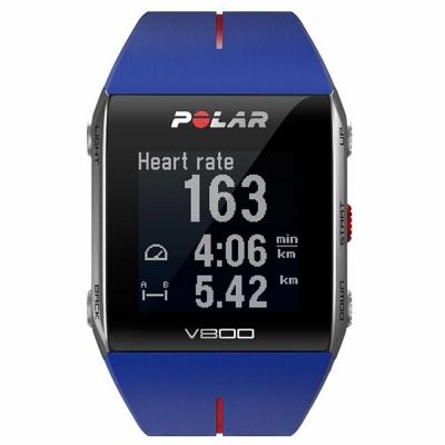 【送料無料】 POLAR(ポラール) GPS搭載スポーツウオッチ V800 ブルー (心拍センサーなし)【正規品】[90048944]