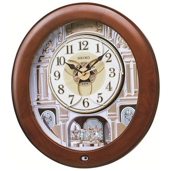 【送料無料】 セイコー 電波からくり時計 RE574B