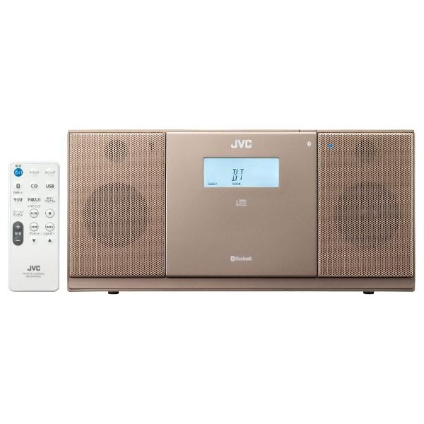 【送料無料】 JVC ジェイブイシー 【150円OFFクーポン配布中!】【ワイドFM対応】CDラジオ(ラジオ+CD)(ブラウン) NXPB30T[NXPB30T]
