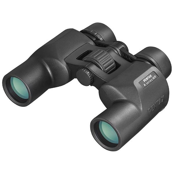 【送料無料】 ペンタックス PENTAX 8倍双眼鏡「Aシリーズ」AP 8×30 WP(ブラック)[AP8X30WP]