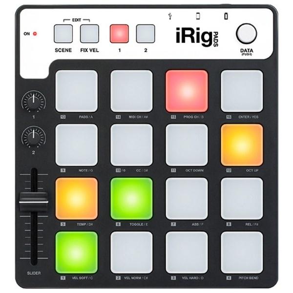【送料無料】 IKMULTIMEDIA iPad / iPad mini / iPhone / iPod対応[Lightning] iRig Pads IKM-OT-000039
