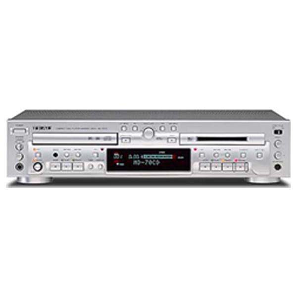 【送料無料】 TEAC CDプレーヤー/MDレコーダー MD-70CD[MD70CD]
