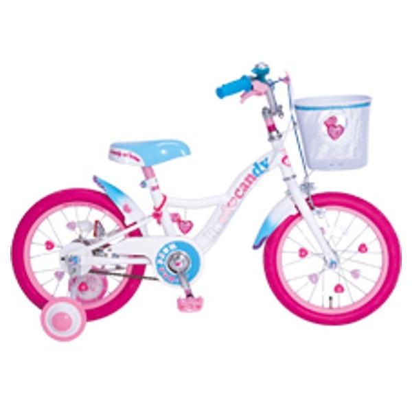 【送料無料】 タマコシ 16型 幼児用自転車 ハードキャンディキッズ16(ブルー/シングルシフト)【組立商品につき返品不可】 【代金引換配送不可】