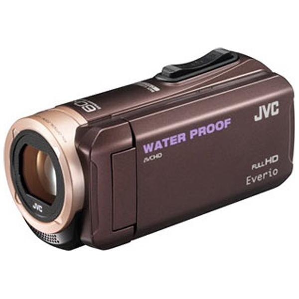 【送料無料】 JVC ジェイブイシー SD対応 8GBメモリー内蔵 5m防水・防塵・耐衝撃フルハイビジョンビデオカメラ(ブラウン) GZ-R280-T[GZR280][c-ksale]
