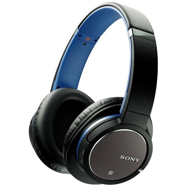 【送料無料】 ソニー SONY ブルートゥースヘッドホン MDR-ZX770BNL ブルー [約1.2m /Bluetooth /ノイズキャンセル対応][MDRZX770BNL][o-ksale]