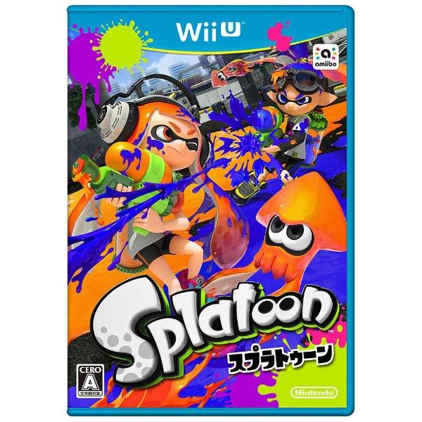 【送料無料】 任天堂 Splatoon(スプラトゥーン)【Wii Uゲームソフト】