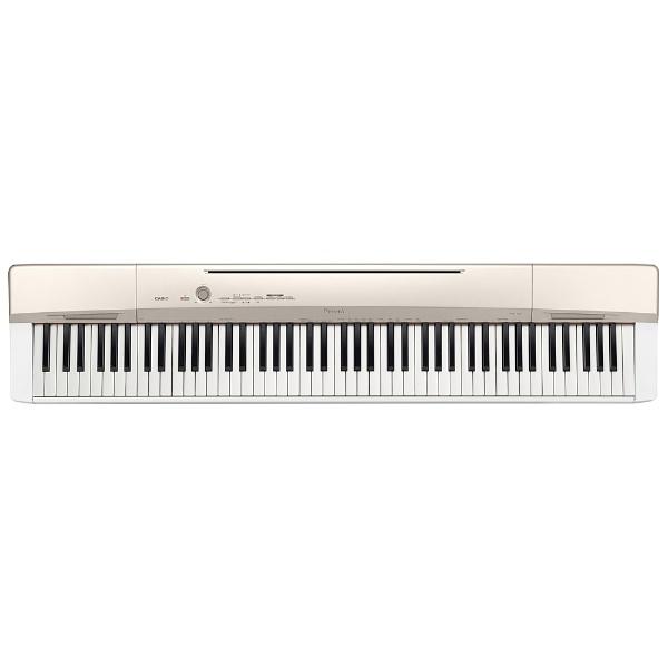 【送料無料】 カシオ 【8%OFFクーポン 8/1 00:00 ~ 8/1 23:59】ステージピアノ PX-160GD ゴールド [88鍵盤 /Privia(カシオ)][PX160GD][o-ksale]