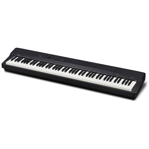 【送料無料】 カシオ ステージピアノ PX-160BK ブラック [88鍵盤 /Privia(カシオ)][PX160BK]