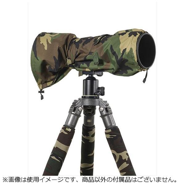 【送料無料】 レンズコート レインスリーブラージフォレストグリーンカモ LCRSLFG