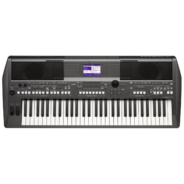 【送料無料】 ヤマハ YAMAHA 電子キーボード PORTATONE(61鍵盤) PSR-S670[PSRS670]