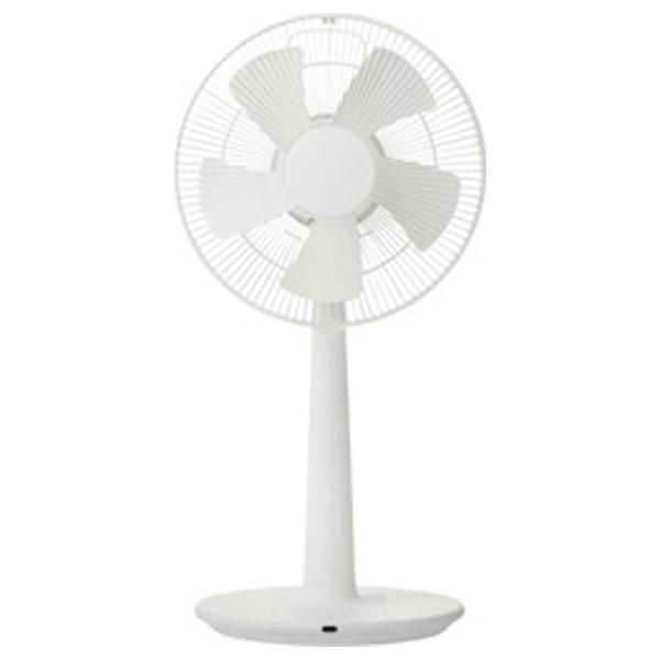 【送料無料】 プラスマイナスゼロ PLUS MINUS ZERO XQSZ120-W リビング扇風機 ホワイト [リモコン付き][XQSZ120][k-ksale]