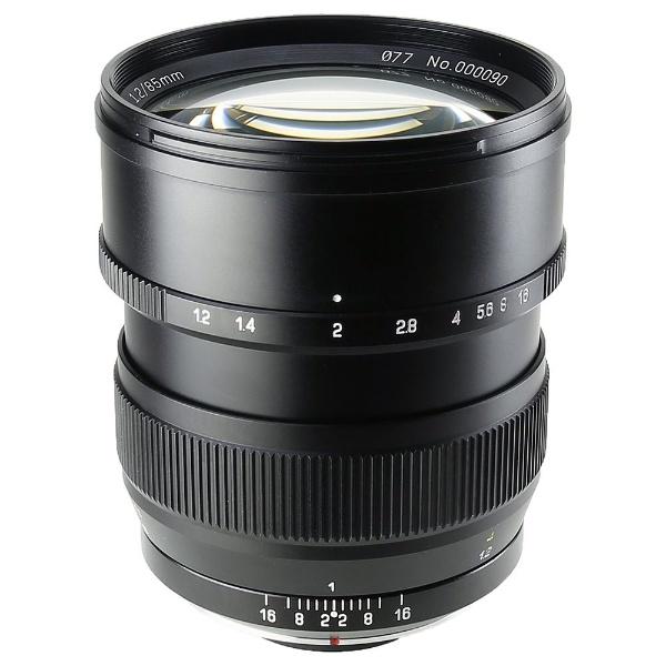 【送料無料】 中一光学 カメラレンズ SPEEDMASTER 85mm F/1.2 【ニコンFマウント】[SPEEDMASTER85MMF1.2N]