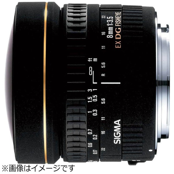 【送料無料】 シグマ カメラレンズ 8mm F3.5 EX DG CIRCULAR FISHEYE 【ニコンFマウント】[835EXDGFISHEYE]