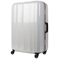 【送料無料】 レジェンドウォーカー TSAロック搭載スーツケース 超軽量キャリー(90L) 6702-70 ラフカーボンホワイトゴールド