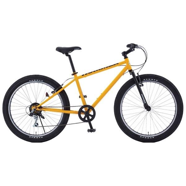 【送料無料】 ハマー 26型 マウンテンバイク HUMMER TANK3.0(イエロー/410サイズ) TANK3.0【組立商品につき返品不可】 【代金引換配送不可】