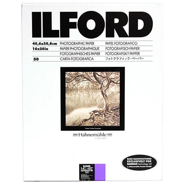 【送料無料】 イルフォード マルチグレード アート300 16×20in (小全紙) 30枚入[MGART30016X2030]