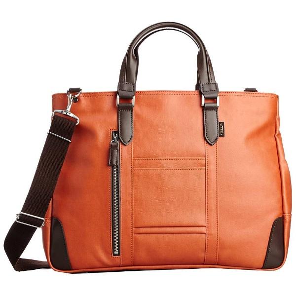 【送料無料】 エバウィン 国産ビジネストートバッグ 21598  オレンジ