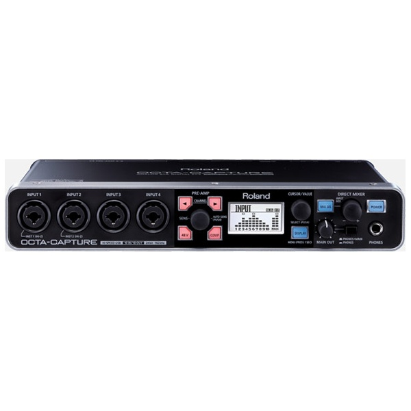 【送料無料】 ローランド OCTA-CAPTURE 24-bit/192kHz Hi-SPEED USB Audio Interface [UA-1010][UA1010]