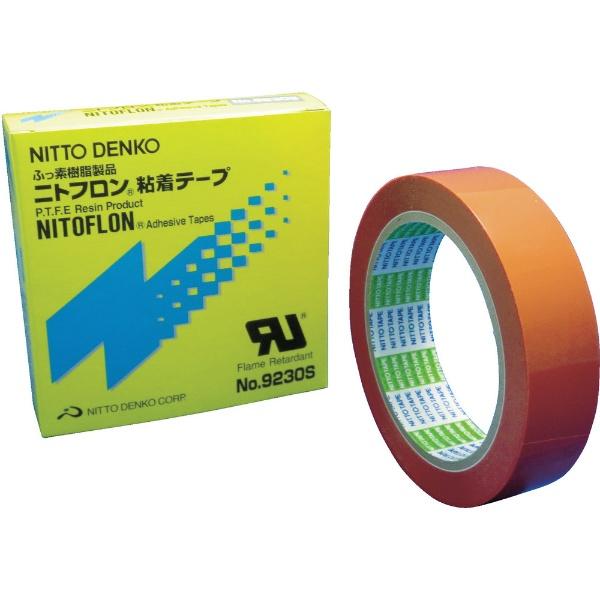 【送料無料】 日東 Nitto ニトフロン粘着テープ No.9230S 0.1mm×25mm×33m 9230SX10X25