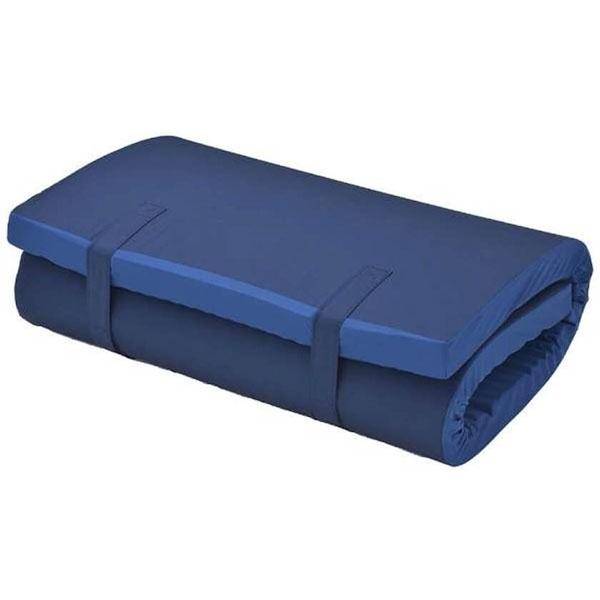 【送料無料】 生毛工房(うもうこうぼう) 3D高弾性マット(シングルサイズ/97×197×7cm/ブルー)【日本製】