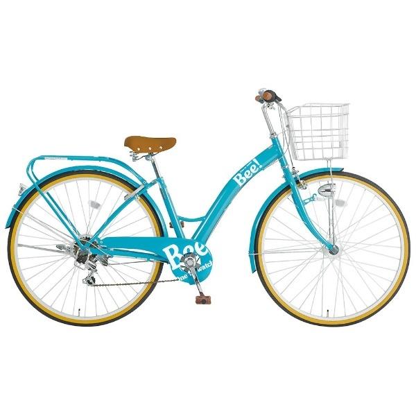【送料無料】 タマコシ 27型 自転車 ビー276HD(ターコイズ/6段変速)【組立商品につき返品不可】 【代金引換配送不可】