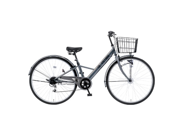 【送料無料】 タマコシ 27型 自転車 LAボルテージ276HD(シルバー/6段変速)【組立商品につき返品不可】 【代金引換配送不可】